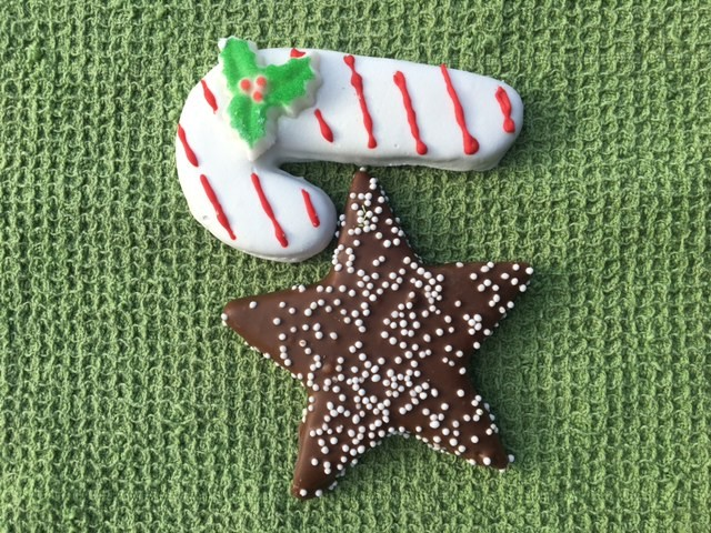 2 PC. Star and Candy Cane