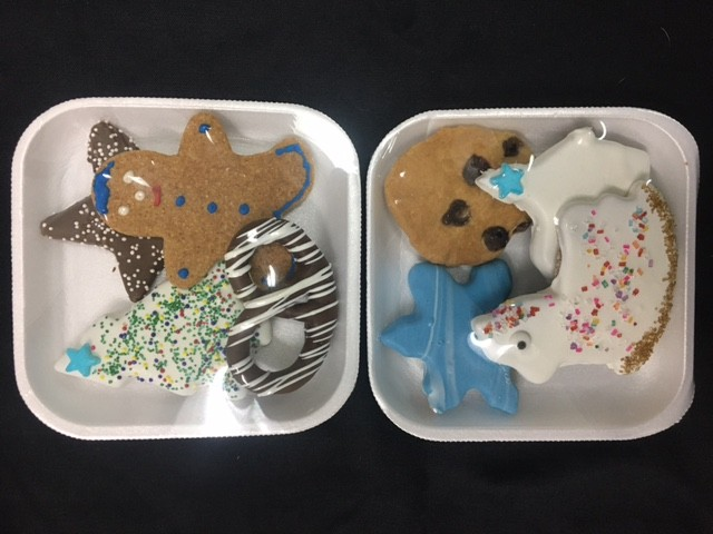4 PC Christmas Cookie Tray (Asstd)
