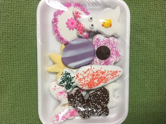 Assorted Easter Cookies 9 Pc.