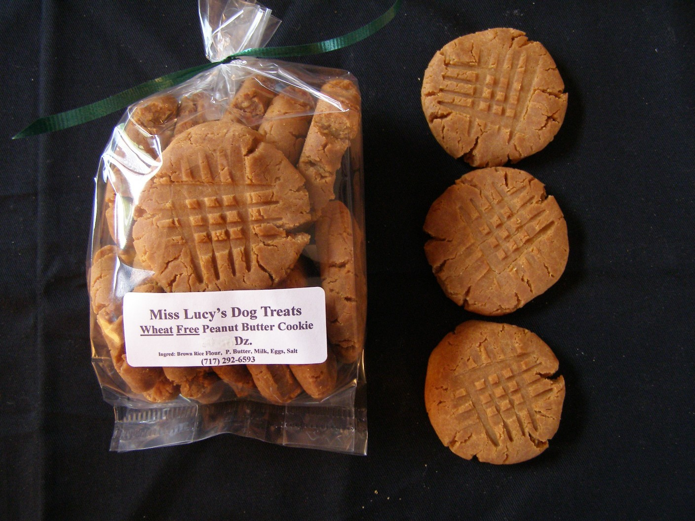 Wheat Free Peanut Butter Cookie