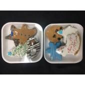 4 PC Christmas Cookie Tray (Asstd)