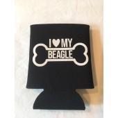 Beagle Can Koozie