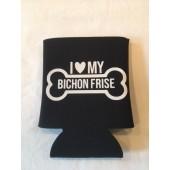 Bichon Frise Can Koozie