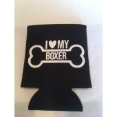 Boxer Can Koozie