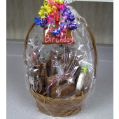 Blue Birthday Basket