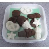 Asstd. Carob and Yogurt Pieces