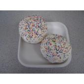 """Dog Cup Cakes 3"""" Asstd. Cup Cakes (2 pcs.)"""