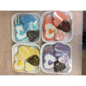Assorted 4 pc. Valentine Cookie Trays