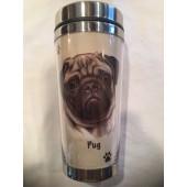 Pug Tumbler